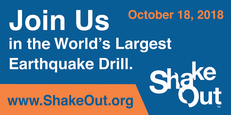 Join Us in the World's Largest Earthquake Drill
