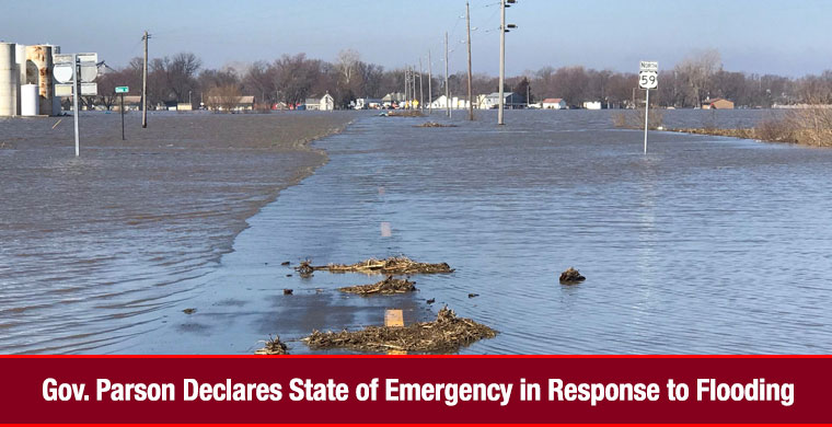 Gov. Parson Declares State of Emergency in Response to Flooding