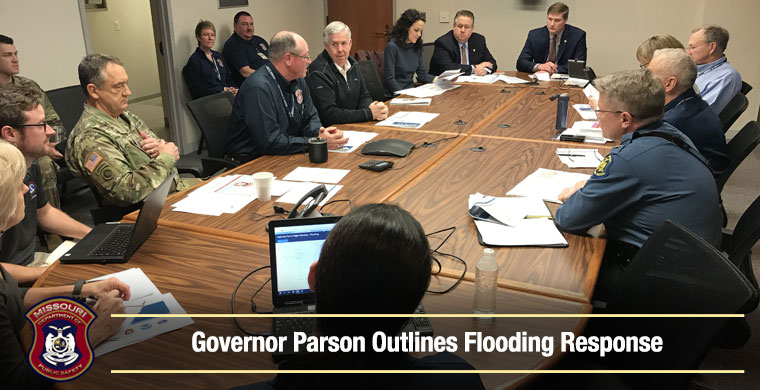 Governor Parson outlines flooding response