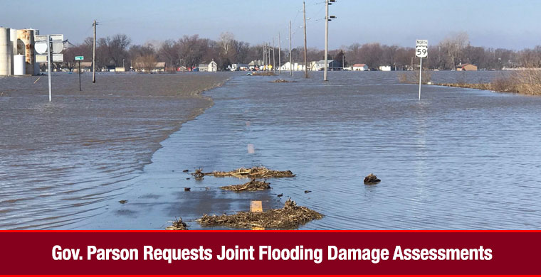 Gov. Parson Requests Joint Flooding Damage Assessments