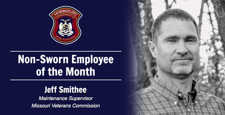January Non-Sworn Employee of the Month