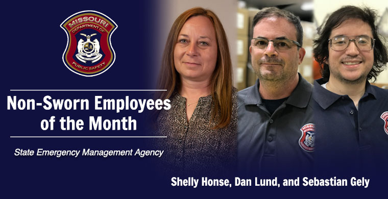 June Non-Sworn Employee of the Month