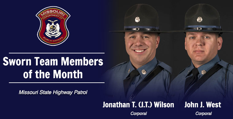 July Sworn Team Member of the Month