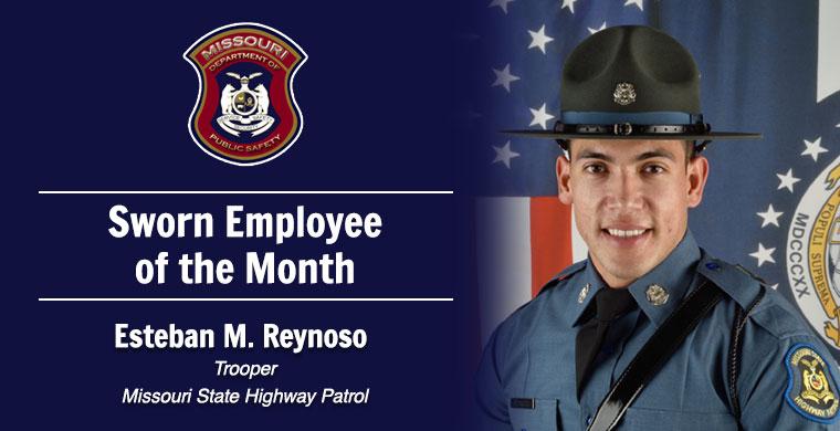 October Sworn Employee of the Month