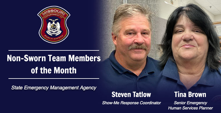 October Non-Sworn Team Member of the Month