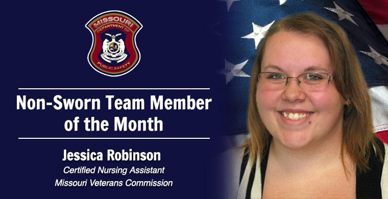 September Non-Sworn Team Member of the Month