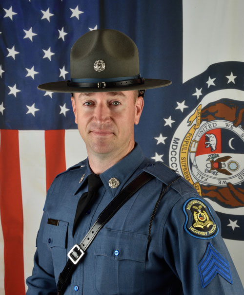 May 2016 Employees of the Month,  Sgt. Gregory Primm